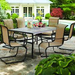 Hampton Bay Belleville 7-piece Patio Dining Set New