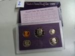 1987 United States coin proof set
