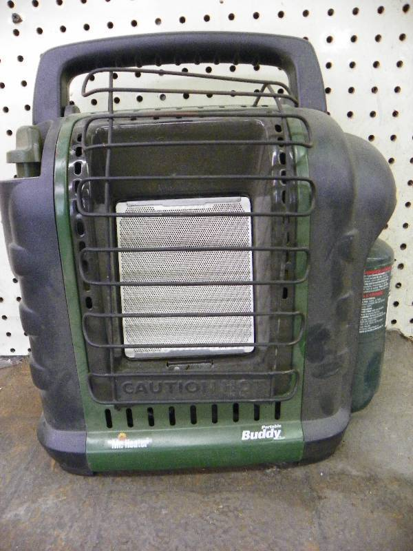 Portable buddy fish house heater march consignment for Fish house heaters