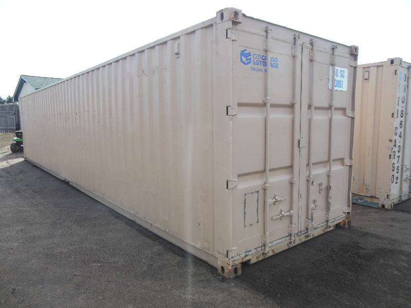 40 Sea Container Steel Shipping Container Storage Box Steel