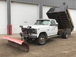 1986 Ford F.350 Diesel Dump Truck With Plow