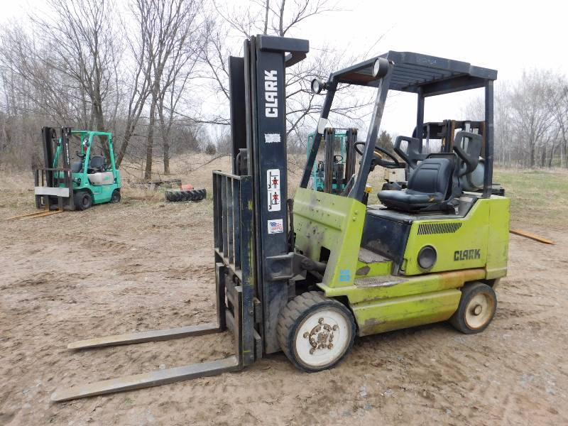 4000lb Clark GCX20 Forklift | Herc-U-Lift St Cloud - April