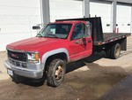 1996 GMC 3500HD LT Contractors Flat Bed Truck