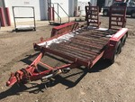 1985 Haul Tandem Axle Equipment Trailer