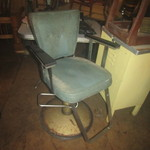Beauty shop chair