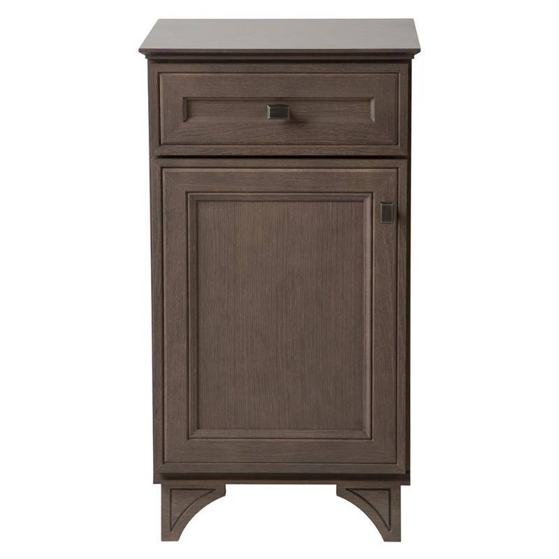 Home decorators collection albright 19 in w x in d vanity cabinet in winter gray 19 in Model home furniture auction mn