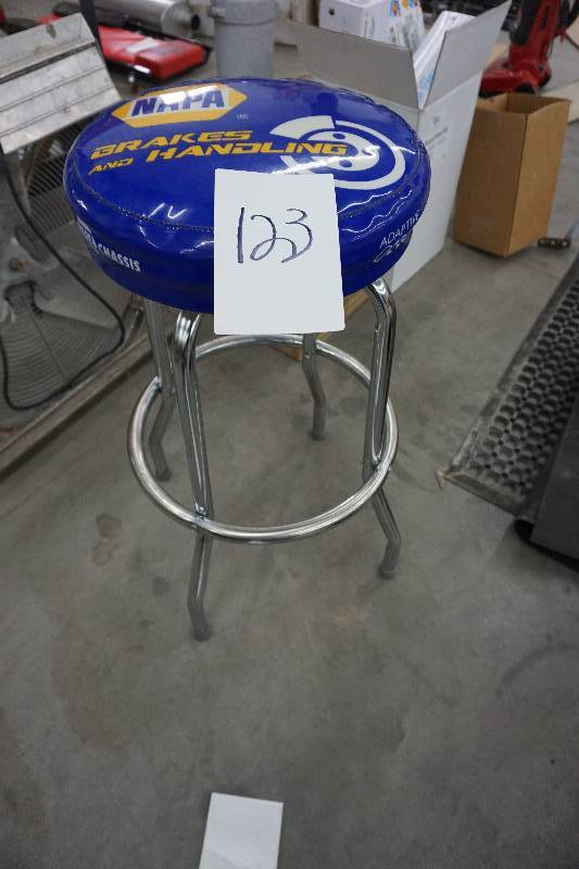 Napa Auto Parts Counter Stool Used Car Auto Repair Shop