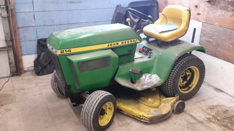 John Deere 214 >> 1976 John Deere 214 Shop Garage Liquidation West Fargo