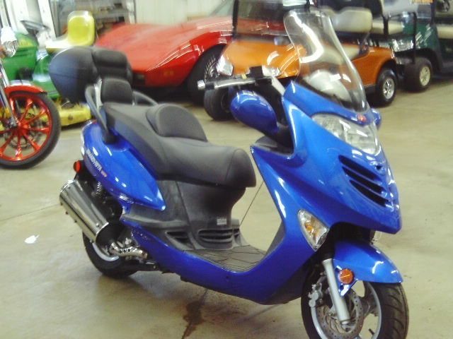 2006 kymco grand vista 250cc koppy motors of hinckley for Koppy motors of hinckley