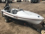 1976 Hydrodyne Ski Boat With Motor & Trailer