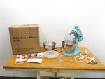 New in Box 9-Piece KitchenAid Tilt-Head Stand Mixer