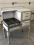 Antique Detroit Jewel Gas Range, 4f...