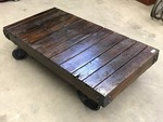Antique 3'x6' Railroad Cart Custom ...
