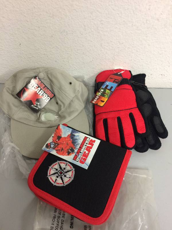 Marlboro Hat, Gloves and CD Case