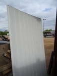 Aluminum insulated panels. Approx 3...