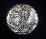 1945 P Walking Liberty Silver Half Dollar [High Grade]