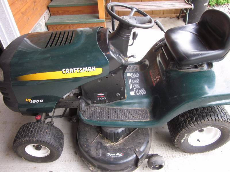 Craftsman Lt1000 Mower Manual : May estate auction in laporte minnesota by lake country sales