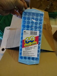 NEW Box Qty 25 Mini Ice Cube Trays. Each tray makes 60 mini cubes. Ideal for use in blenders