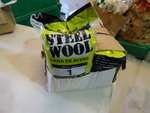 NEW Case 1# Medium Steel Wool, 6 packs of 8 pads ea. 48 total pads. - Retail $24