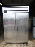 Glenco 2 Door Stainless Steel Refrigerator