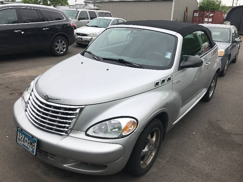 2005 chrysler pt cruiser convertible turbo car truck. Black Bedroom Furniture Sets. Home Design Ideas