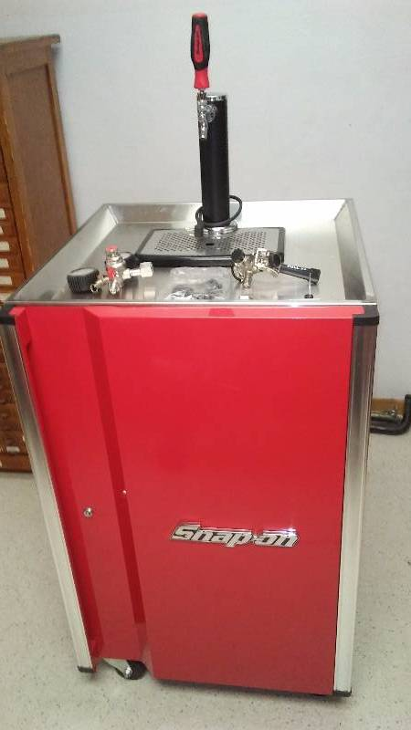 Snap On Kegerator The Ultimate Man Cave Accessory