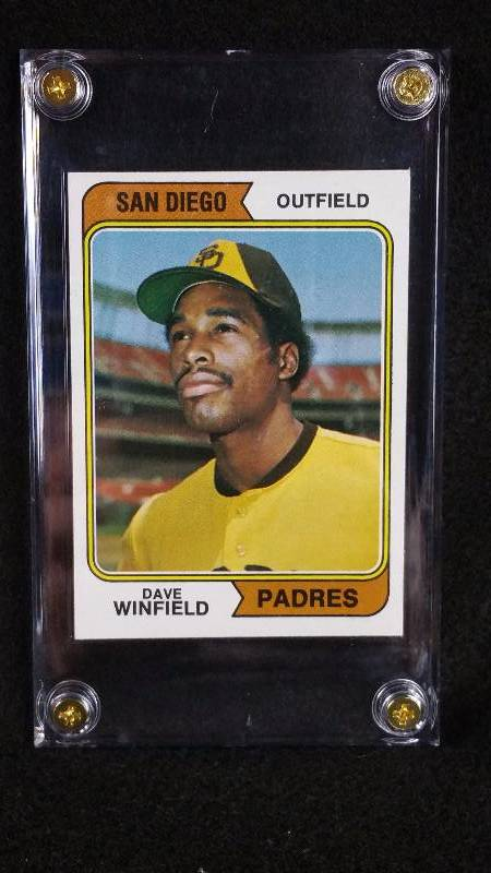 1974 Topps Dave Winfield Rookie Card Higher End Sports Card