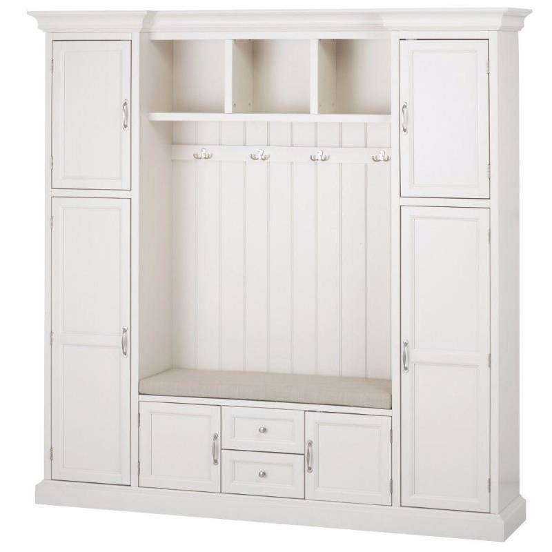 Home Decorators Collection Royce Polar White Hall Tree Pallet Lots Pool Cabinets Flooring