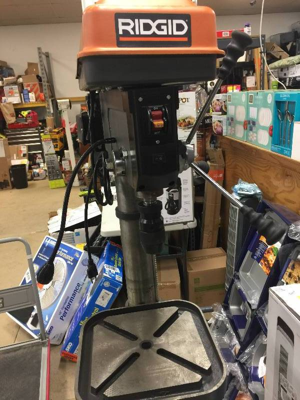 Ridgid 15 In Drill Press With Led Model R1500 In Like