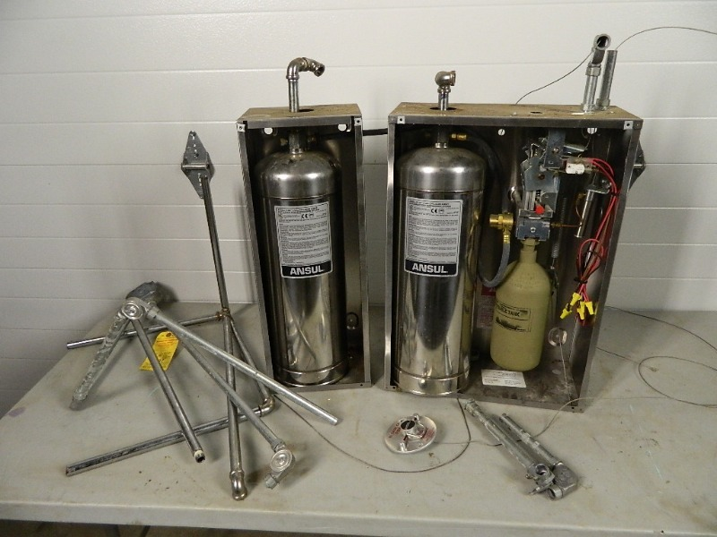 Ansul Fire Suppression System | Restaurant, Bar, Bakery