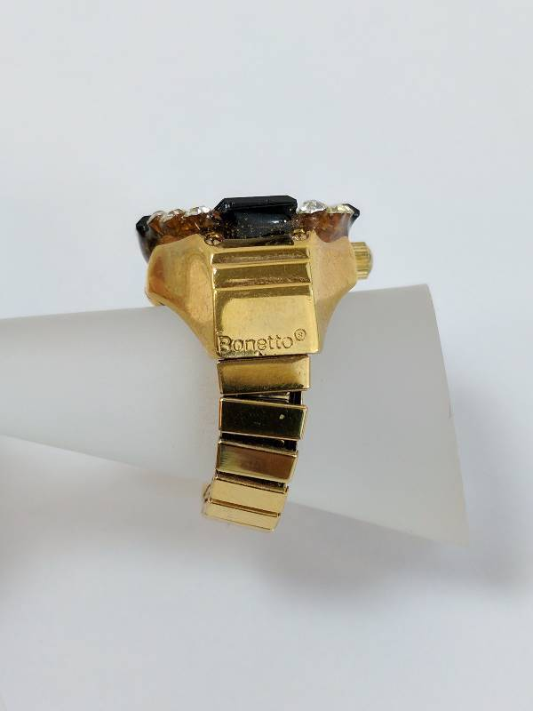 Bonetto Digits Ring Watch