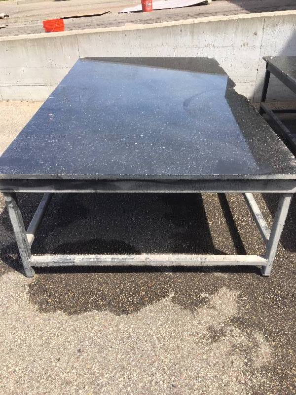 Heavy Duty Countertop : Granite counter top heavy duty tables in hudson wisconsin
