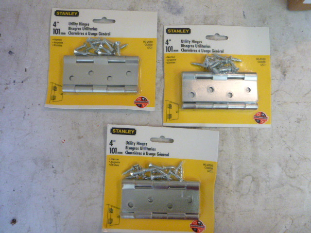 3 Packs of Stanley Utility Hinges | Northstar Kimball June