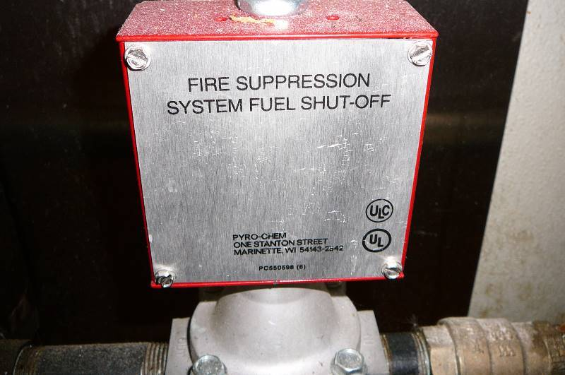 Stainless Hood Fire Suppression Amp Air Exchanger New 2016
