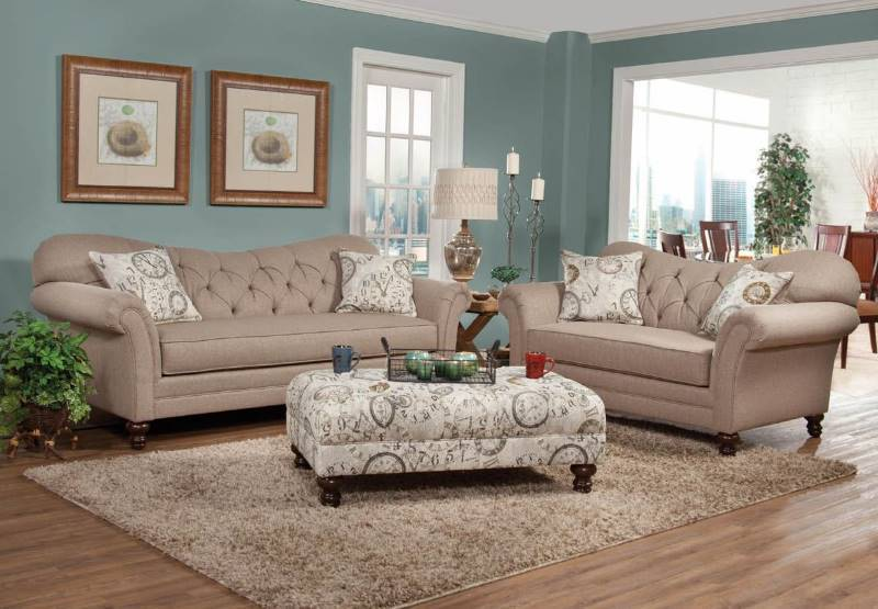 New Abington Safari Sofa and Loveseat By Serta Upholstery ...