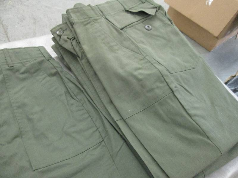 Lot of 10 New Army Green 4 Pocket U    | Military Surplus