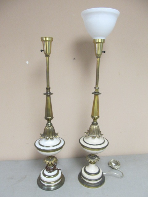 Pair Of Vintage Stiffel Table Lamps Maplewood Vintage Home Decor