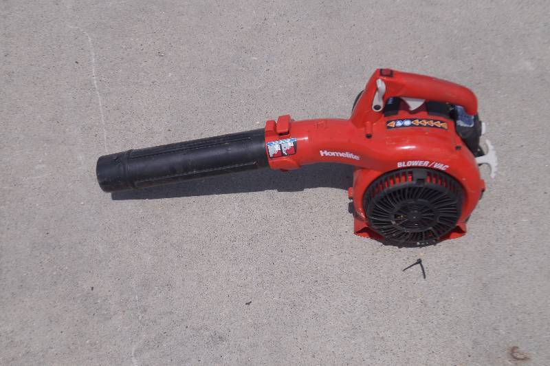 Homelite Electric Blower Vac : Moorhead liquidation store returns consignment auction