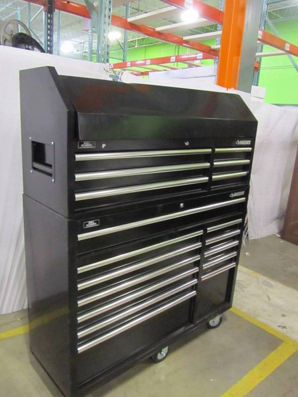 Husky 52 In 18 Drawer Tool Chest And Rolling Tool Cabinet