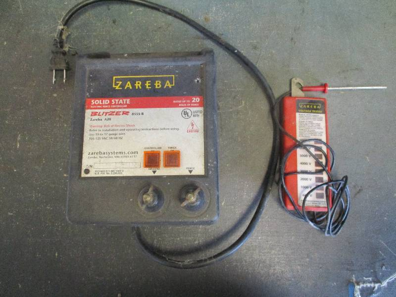 Electric Fence Controller and Tester