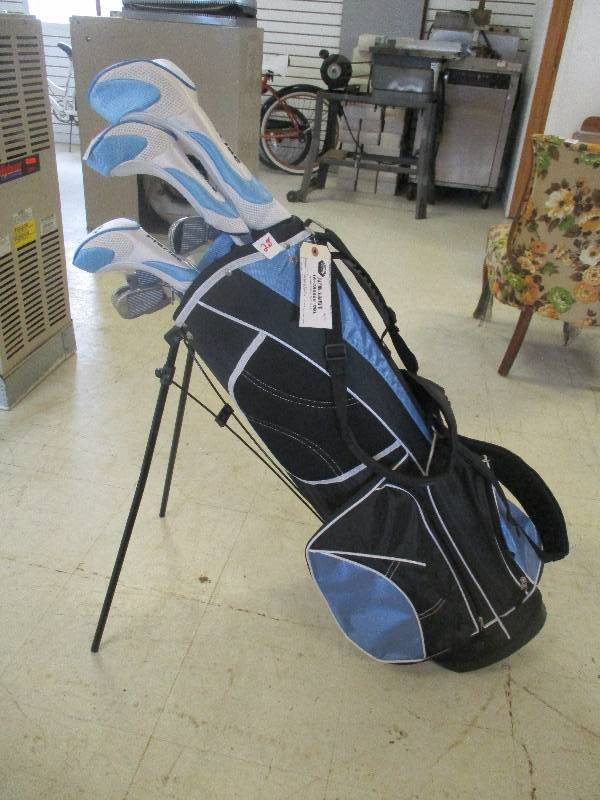 AMG PRECISE Golf Clubs and Golf Bag