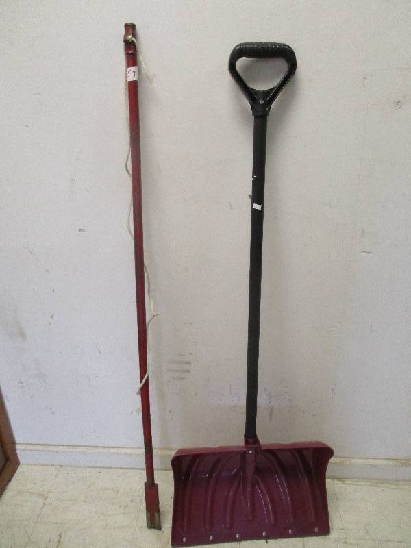 Ice Chipper and Snow Shovel