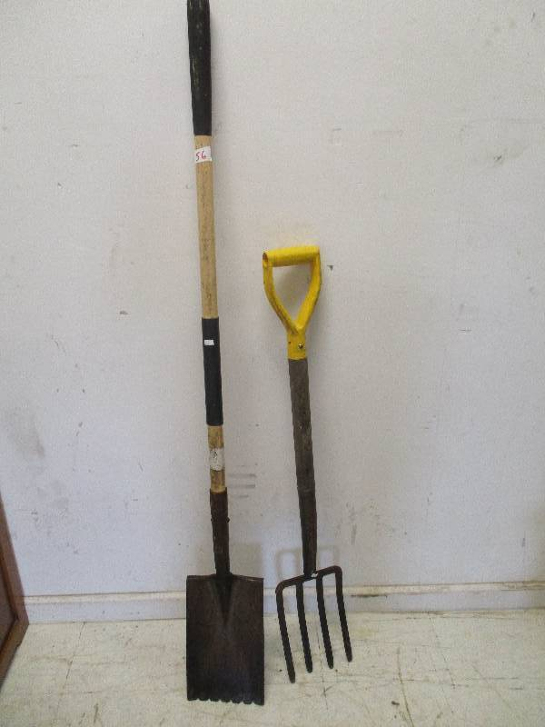 Pitch Fork and Shovel
