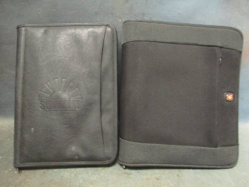 Notebook Binder and Pad Folio