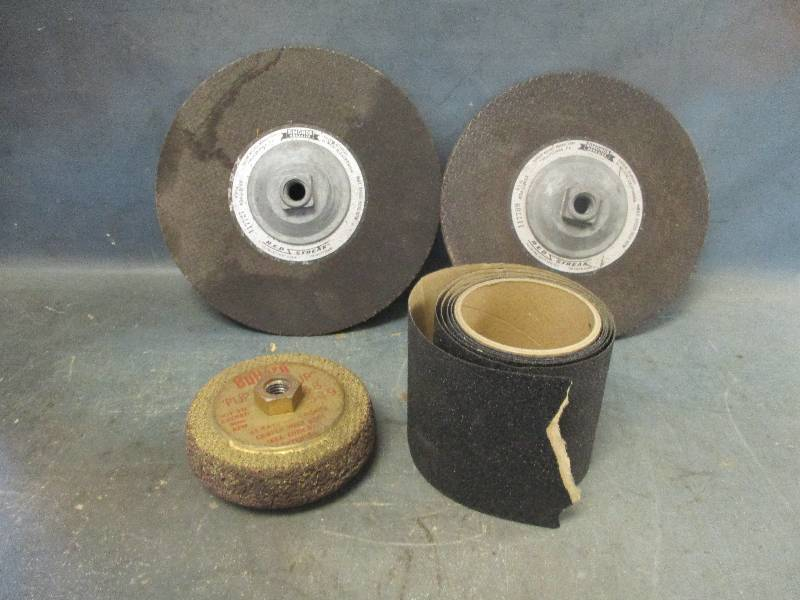 Grinding Wheels and Sandpaper