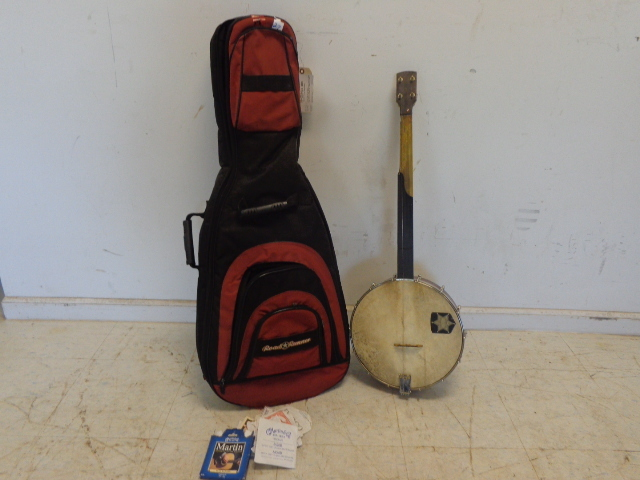 Banjo and Guitar Case