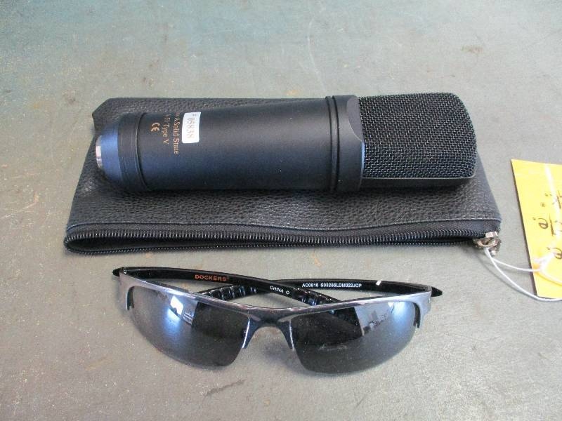 Microphone and Sunglasses