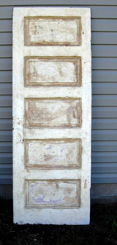 Old, 5 Panel, Wood Door   Perfect For Upcycle Projects | Vintage, Antiques,  Salvage U0026 Collectibles II | K BID