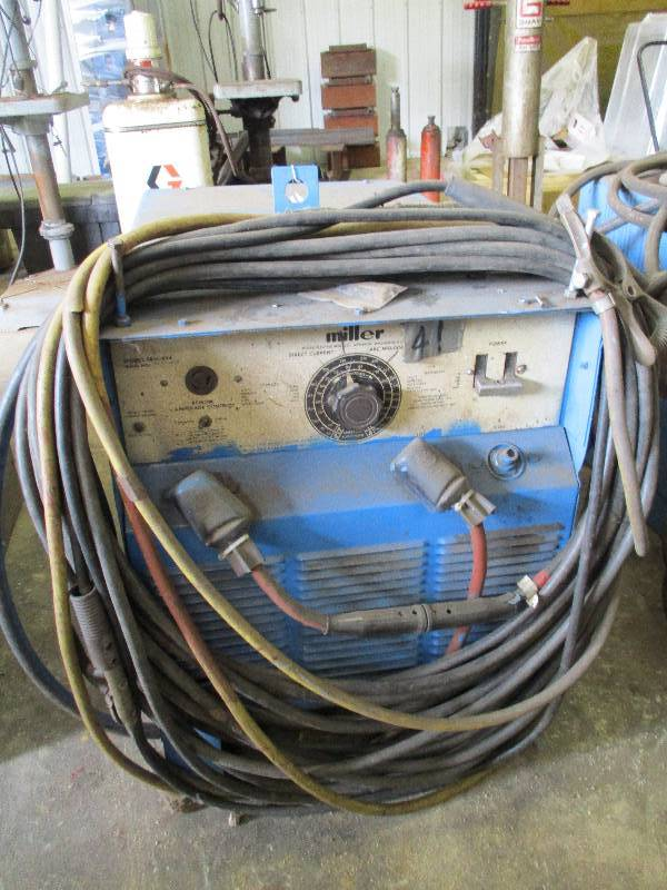 Miller Arc Welder >> Miller Arc Welder Business Reduction Sale K Bid