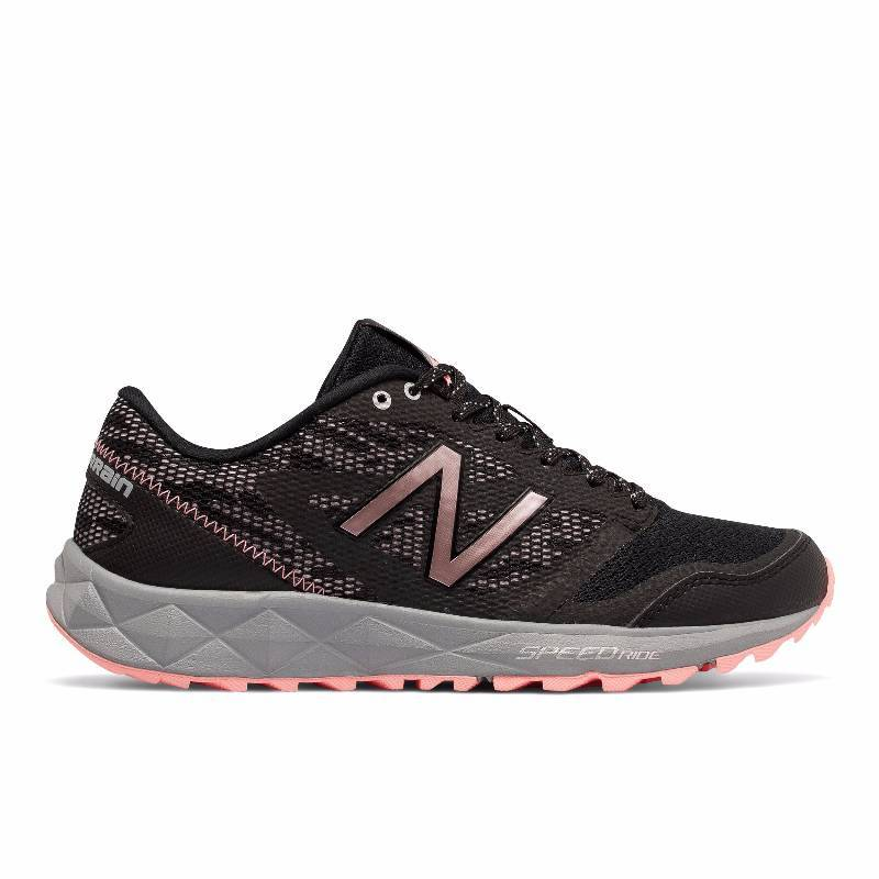 5decccafd5c86 Women's New Balance NB T590v2 Trial Running Black Pink Shoe / Shoes ...